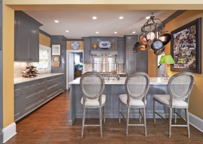 Ostmo Construction & Rockwood Cabinetry - Kelly Kitchen Remodel