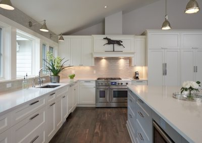 Ostmo Construction & Rockwood Cabinetry - Valentine Remodel