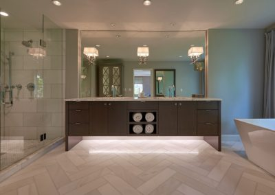 Ostmo Construction, Coleen Rundle Interiors & Rockwood Cabinetry - Master Bed & Bathroom Remodel